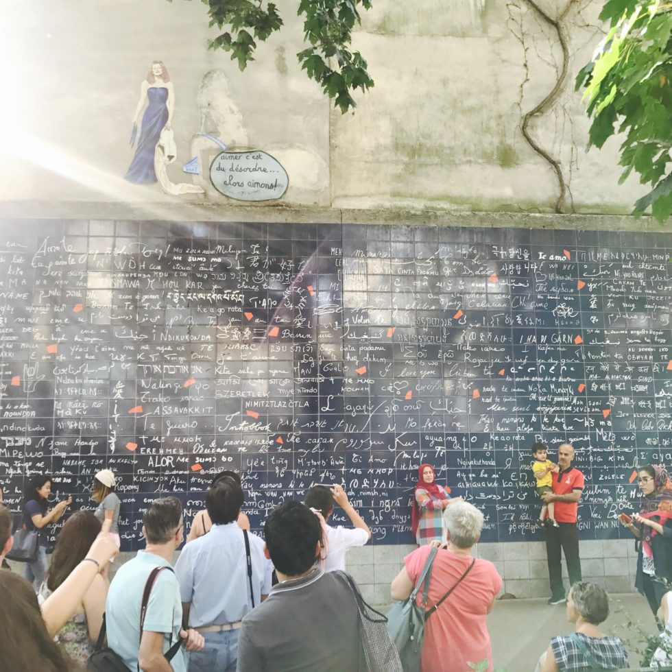 "Spaces that showcase linguistic diversity with a cause are special to me. To me, the ""Mur des je t'aime"" (""Wall of I love yous"") in Paris's 18th arrondissement is a symbol of how differences can coexist to create beauty."