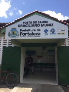 One of the clinics that I worked in during the outbreak in Fortaleza, Brazil